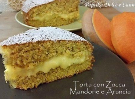 Torta di Zucca Mandorle e Arance