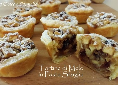 Tortine di Mele in Pasta Sfoglia