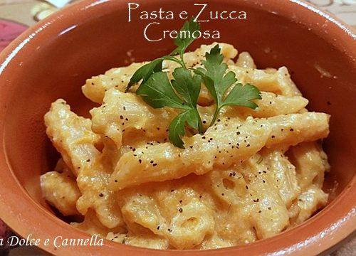 Pasta e Zucca Cremosa
