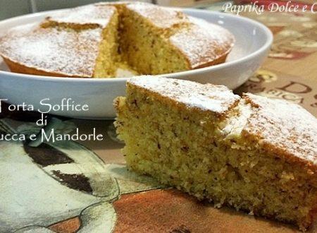 Torta Soffice di Zucca e Mandorle