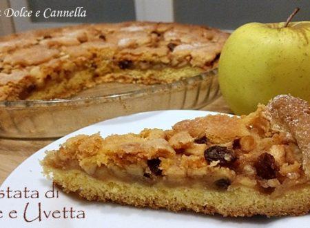 Crostata di Mele e Uvetta (con e senza glutine)