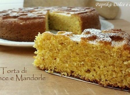 Torta di Arance e Mandorle (con e senza glutine)