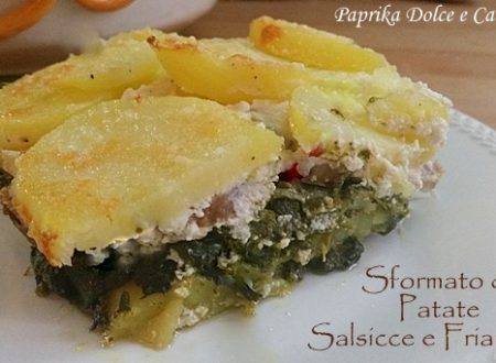 Sformato di Patate Salsicce e Friarielli