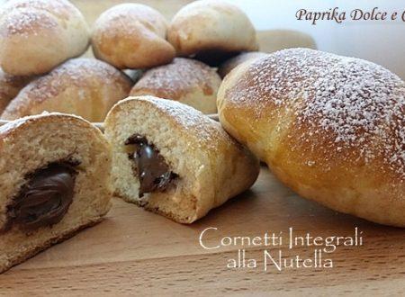 Cornetti Integrali alla Nutella