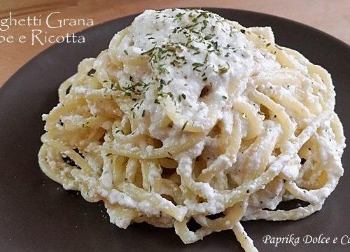 Spaghetti Grana Ricotta e Pepe