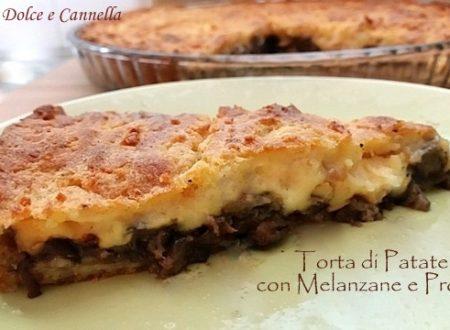 Torta di Patate Melanzane e Provola