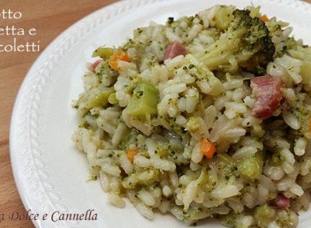 Risotto Pancetta e Broccoletti