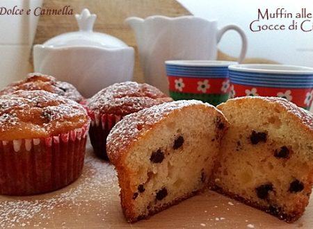 Muffin alle Mele e Gocce di Cioccolato