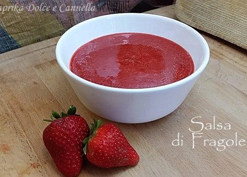 Salsa di Fragole (La Coulis)