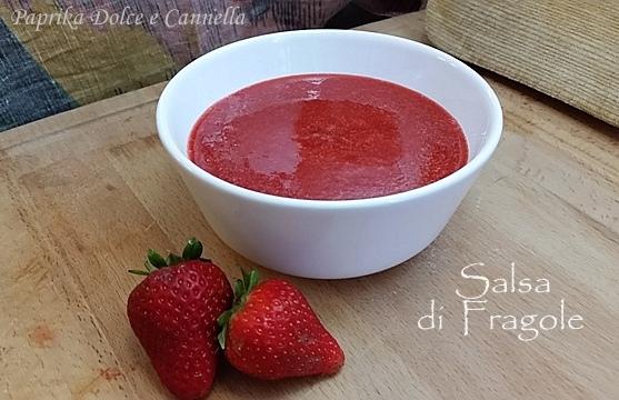 salsa alle fragole