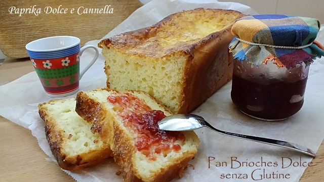 pan brioche dolce senza glutine