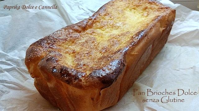 pan brioche dolce senza glutine -
