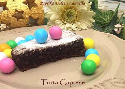 Torta Caprese -