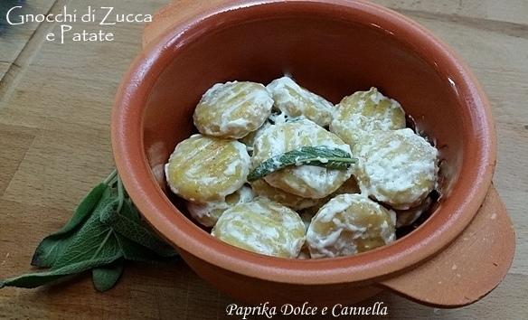 Gnocchi di Zucca e Patate (con e senza glutine)