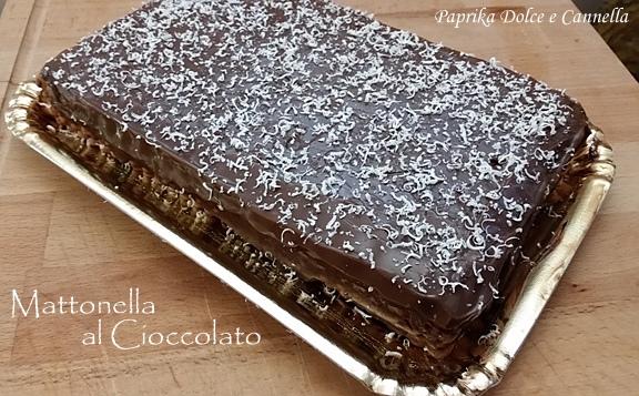 mattonella alla crema di cioccolato