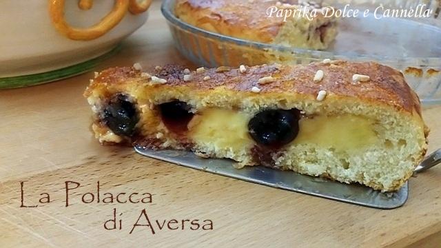 La Polacca di Aversa , tipico dolce della provincia di Napoli