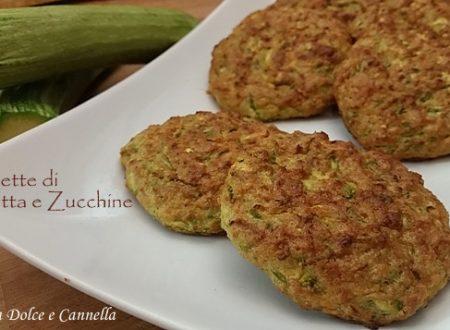 Polpette di Ricotta e Zucchine