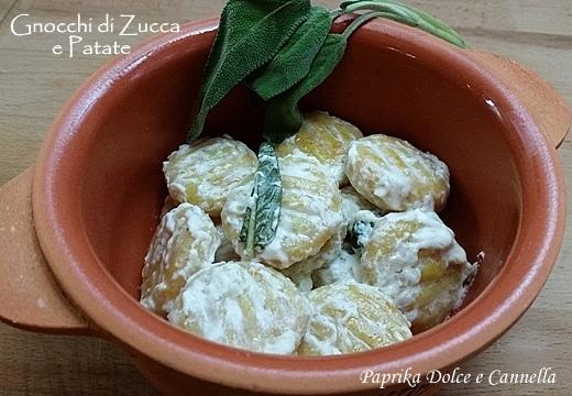 gnocchi di zucca e patate -