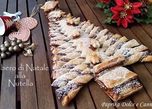 Albero di Natale alla Crema di Nocciole