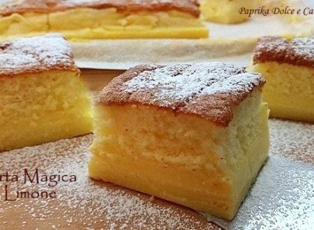 Torta Magica al Limone (anche senza glutine)