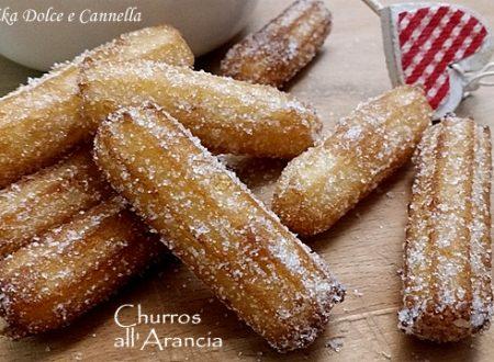Churros all'Arancia (anche senza glutine)