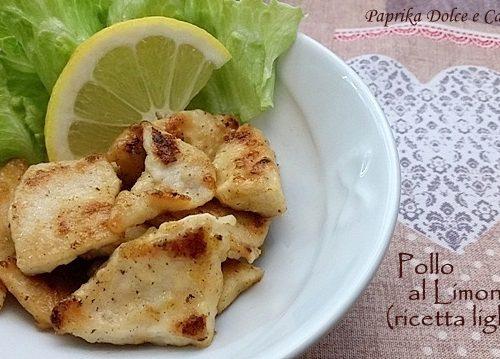 Petto di Pollo al Limone (ricetta light)