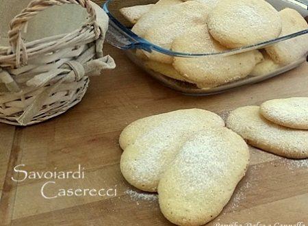 Savoiardi Caserecci (Ricetta Facile)