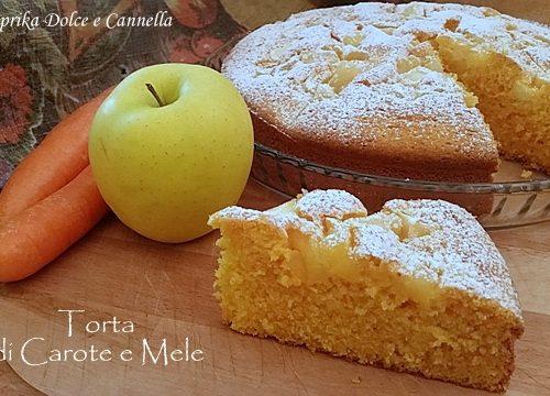 Torta di Carote e Mele (anche senza glutine)