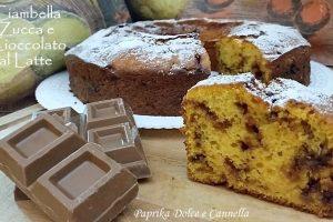 Ciambella Zucca Ricotta e Cioccolato al Latte