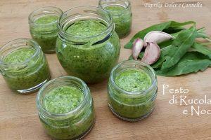 Pesto di Rucola e Noci (salsa versatile)