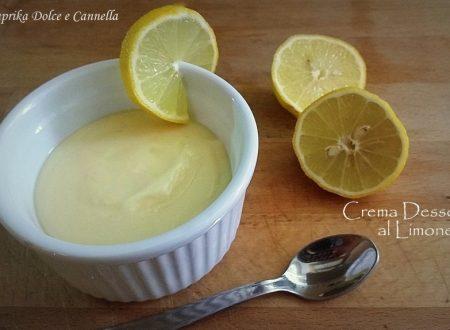 Crema Dessert al Limone (ricetta velocissima!)