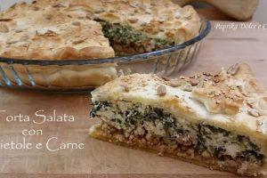 Torta Salata con Bietole e Carne Macinata