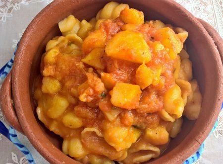 pasta e patate alla calabrese