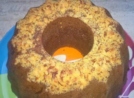 torta nocciole e crema al cioccolato e nocciole