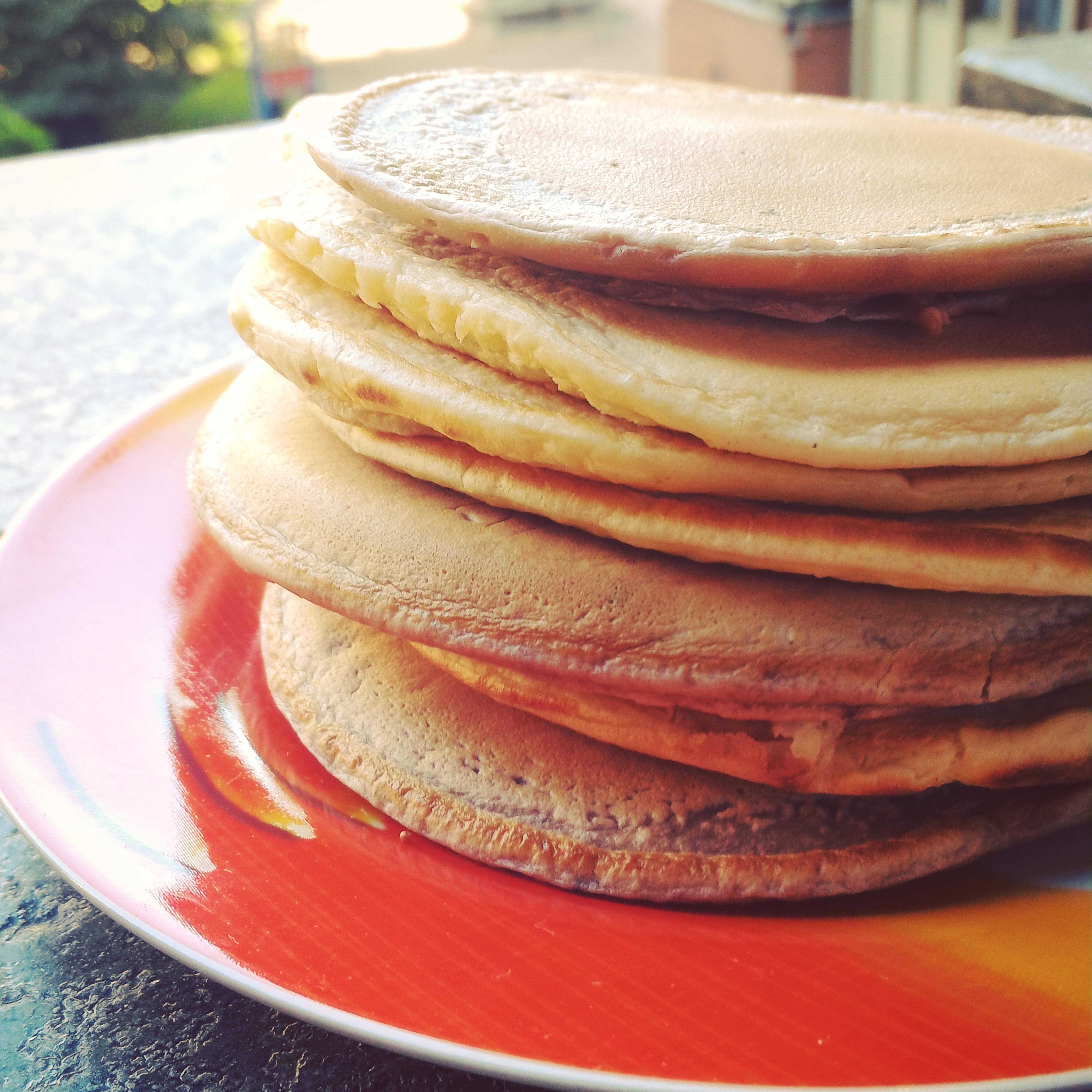 Ricetta Pancake Di Benedetta.Pancake Leggeri Senza Zucchero E Senza Burro