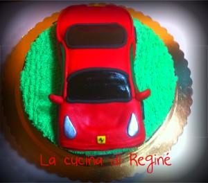 Una Ferrari di zucchero