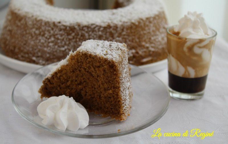 Ciambella panna e caffè sofficissima