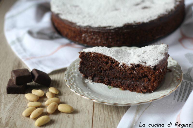 Torta Caprese soffice e umida