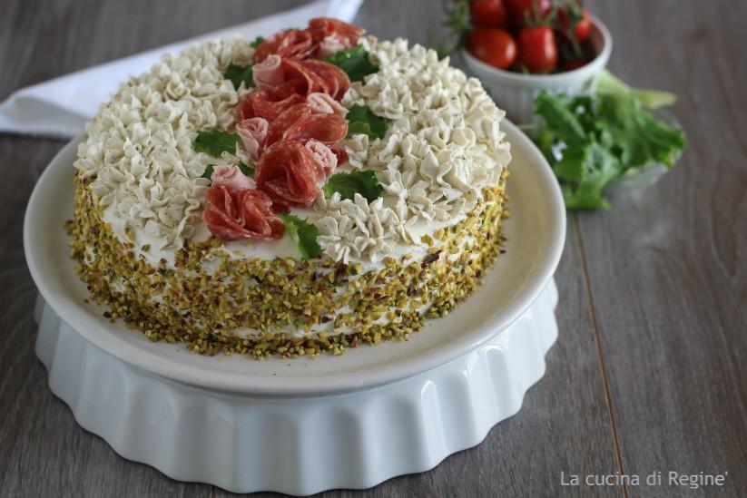 Decorazioni Torte Salate : Torta tramezzino decorata la cucina di reginé ☼