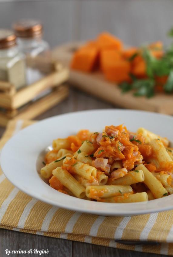 sedanini zucca e pancetta affumicata