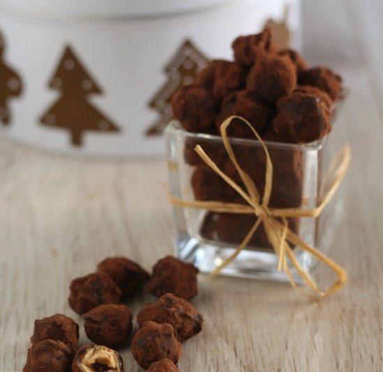 Nocciole pralinate al cioccolato