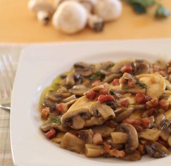 Pollo alla boscaiola, secondo piatto veloce e saporito