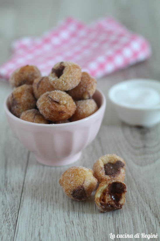 Frittelle a nutella