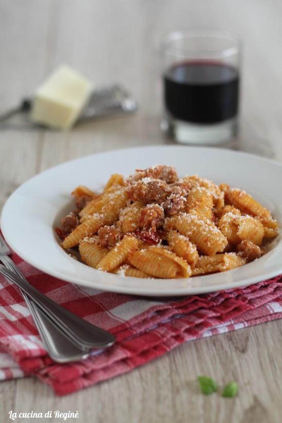 Gnocchetti piccanti salsiccia e pecorino