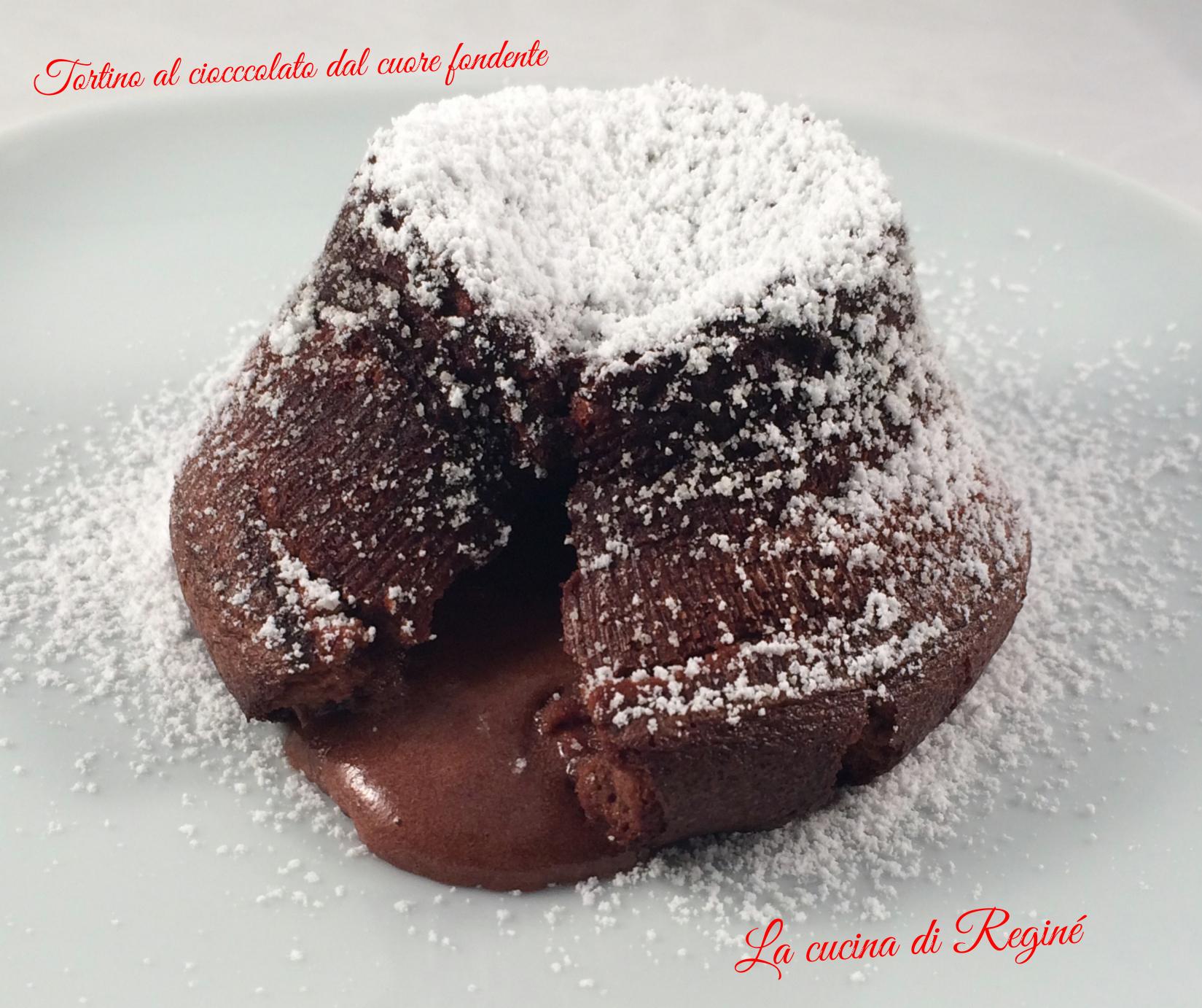 Tortino al cioccolato fondente dal cuore morbido