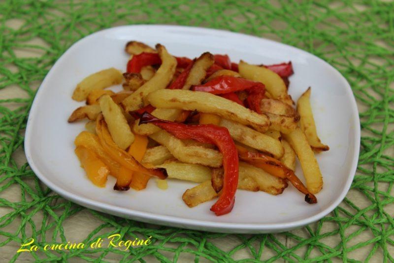 Patatine e peperoni