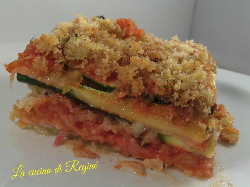 parmigiana zucchine light