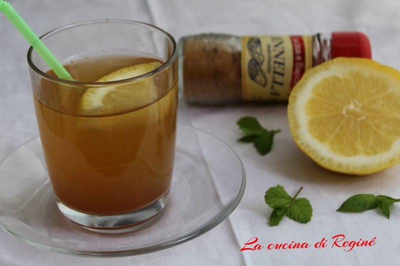Tisana cannella e limone