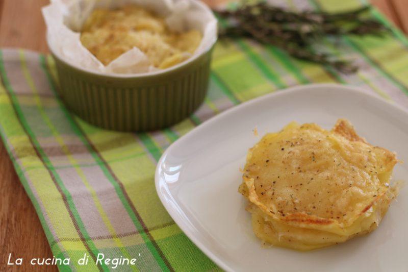Millefoglie di patate al microonde