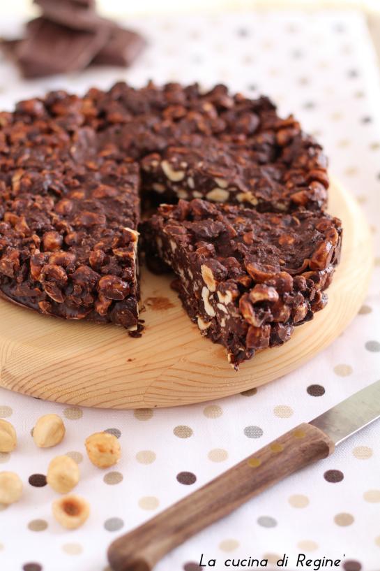 torta senza cottura cioccolato e nocciole 1